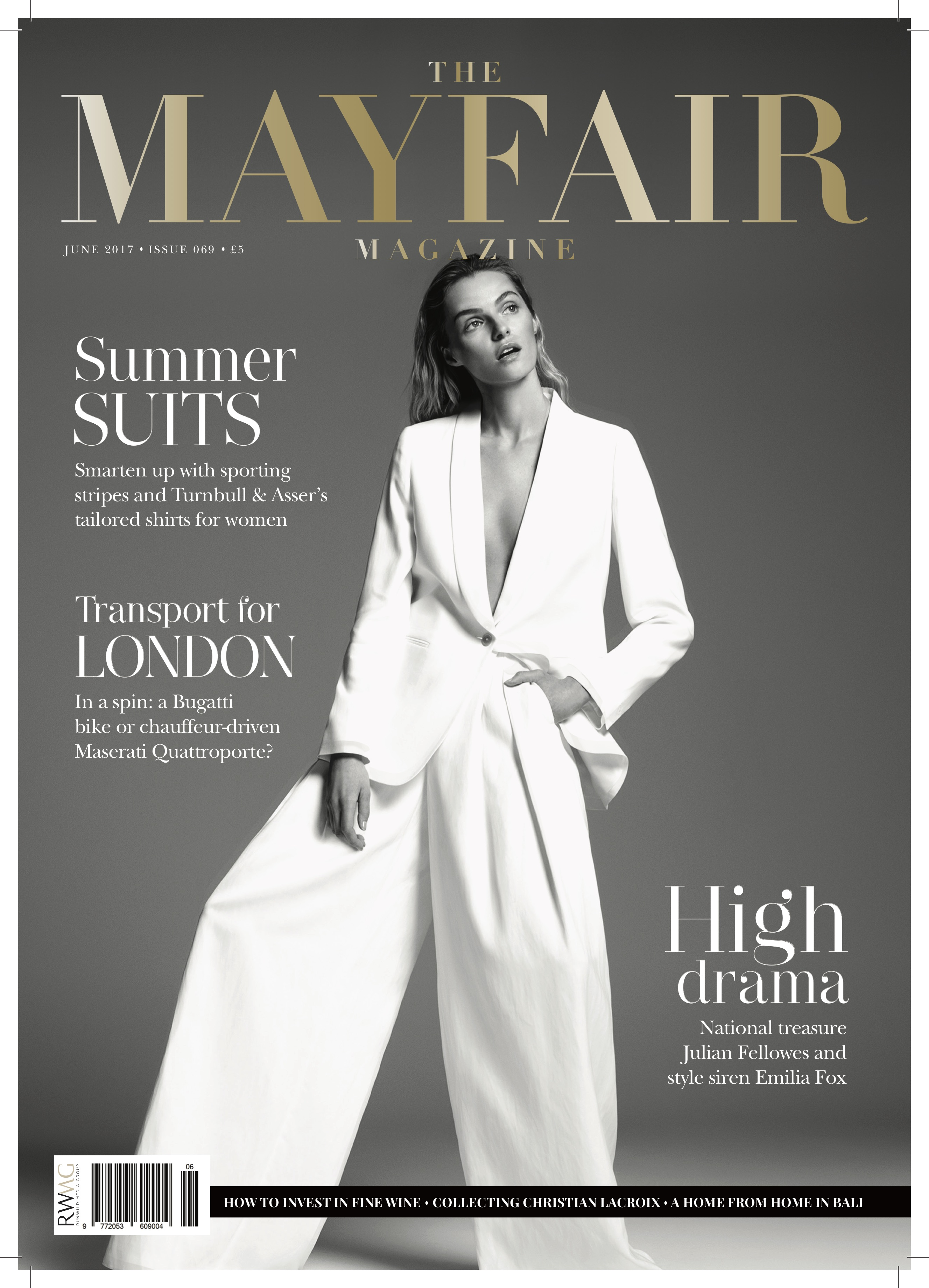 The Mayfair Magazine Cover, May:June 2017