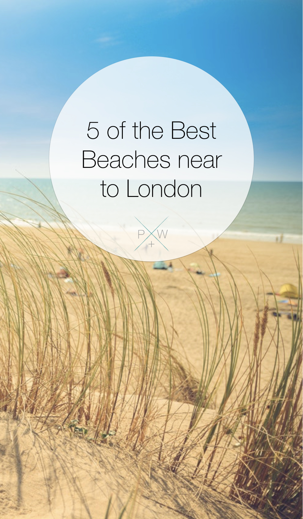beaches near London