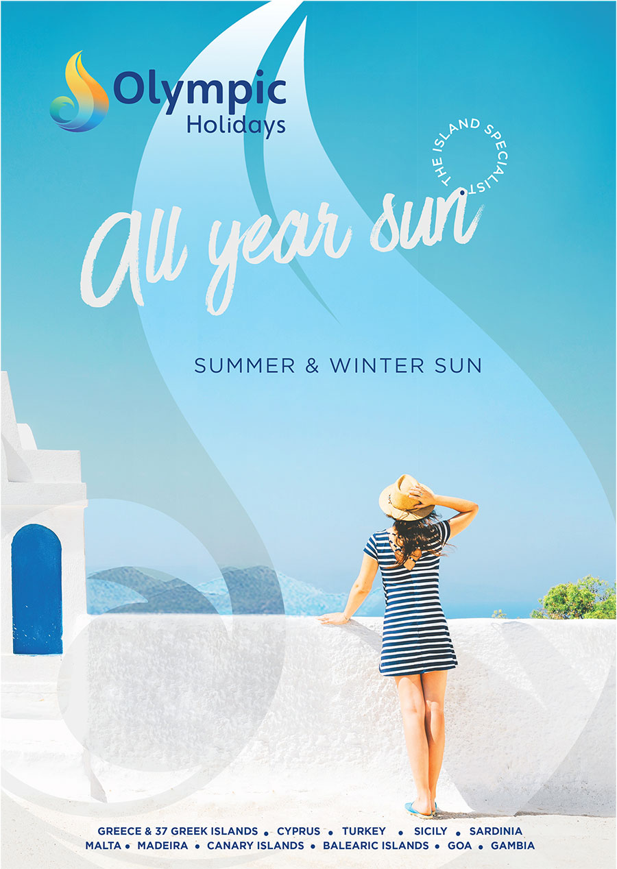 Olympic Holidays All Year Sun Brochure Cover
