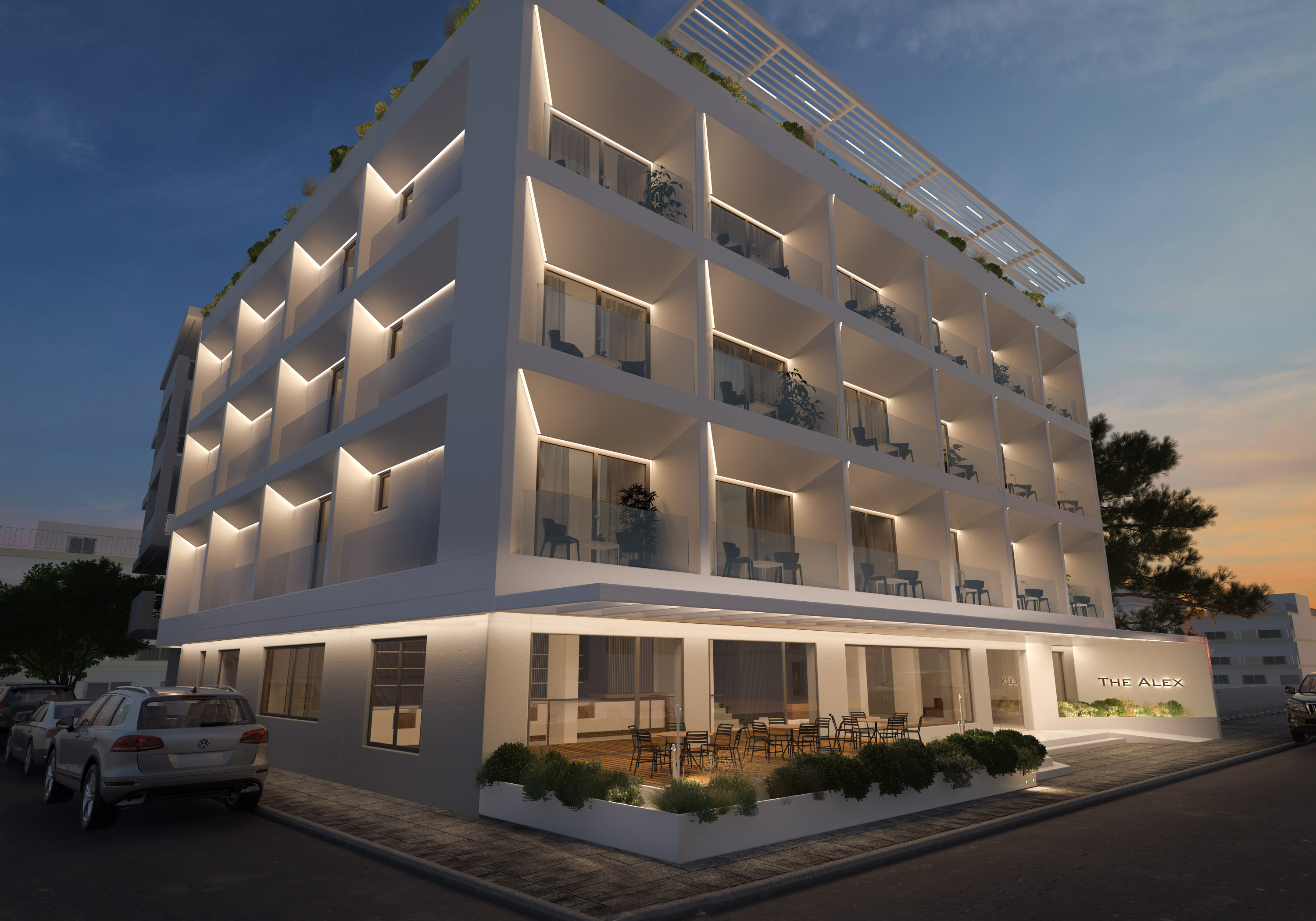 The Alex Hotel, Athens Riviera